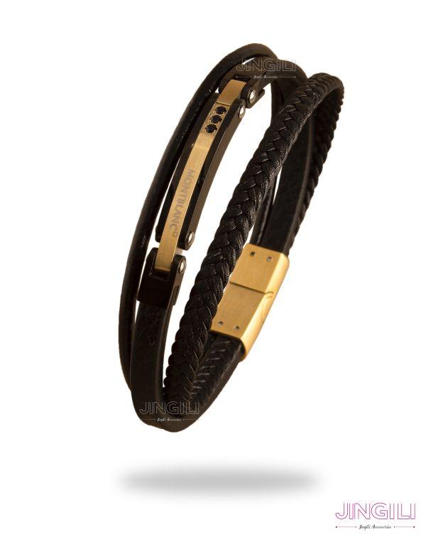 دستبند مردانه مونت بلنک