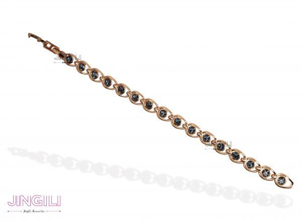 دستبند زنانه سنگ اونیکس
