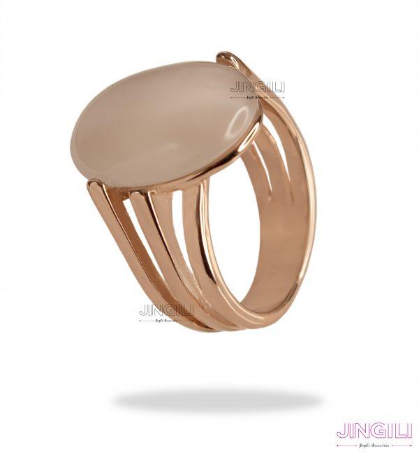 انگشتر زنانه سنگ اپال