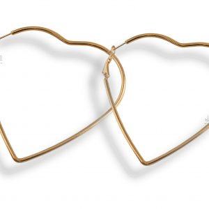 گوشواره زنانه مدل قلب