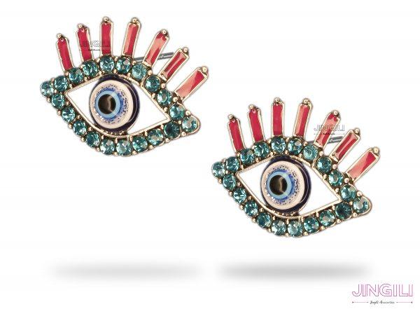 گوشواره چشم و نظر زنانه