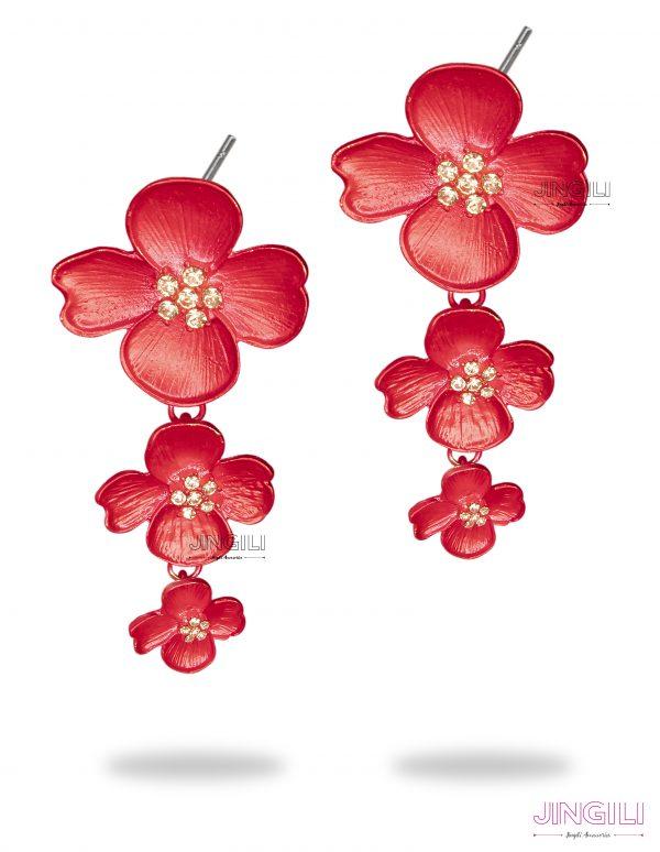 گوشواره زنانه گل