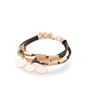 دستبند چرمی زنانه