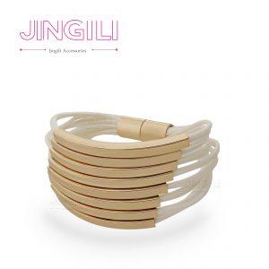 دستبند زنانه چرمی